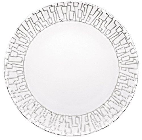 Rosenthal Studio-line TAC Gropius Skin Platin Speiseteller, 28 Cm Dinner Plate