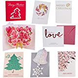 Wishmade Vintage Christmas Box Set Assorted With Envelopes...