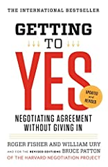 The key text on problem-solving negotiation-updated and revised   Since its original publication nearly thirty years ago, Getting to Yes has helped millions of people learn a better way to negotiate. One of the primary business texts of the m...