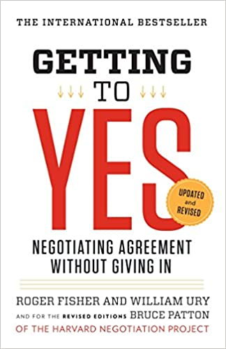 Image result for image getting to yes book
