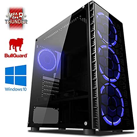 VIBOX Precision 6S Gaming PC Ordenador de sobremesa con War Thunder Cupón de Juego, Windows 10 OS (4,0GHz AMD FX Quad-Core Procesador, Nvidia GeForce ...