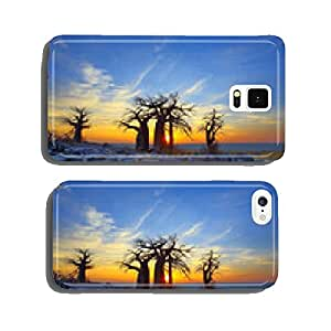Baobabs on Kubu at Sunrise cell phone cover case iPhone6 Plus