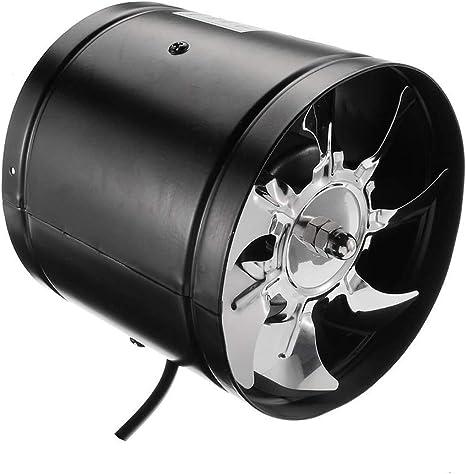 EtexFan 200mm Ventilador De Escape, Ventilador Extractor De Aire ...