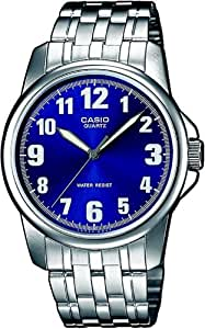 CASIO MTP1260D2BEF - Reloj de caballero de cuarzo, correa de acero inoxidable color varios colores
