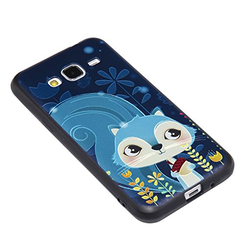 Samsung Galaxy J3 / J3 (2016) Hülle Silikon mit Muster, Lomogo Schutzhülle Stoßfest Kratzfest Handyhülle Case für Samsung Galaxy J3 (2016) / J320 - YIYO22216 #4 #7