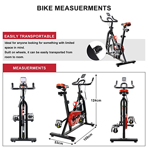Indoor Aerobic Exercise Bike Training Spinning Bike Cycle