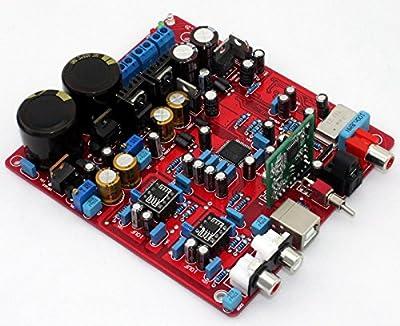 AK4399 + PCM2706 + WM8805 DAC Decoder Board w/Coaxial & Optical (including USB)