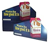 Winston Cigarettes Point of Purchase Display Advertising