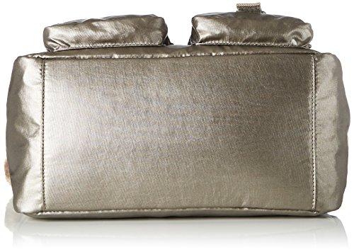 Kipling à Sac Metallic Pewter bandoulière Defea Femme Or grEgwq5