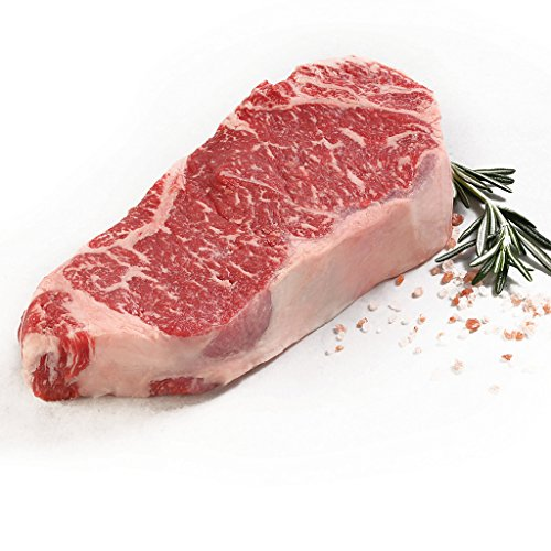 New York Prime Beef - Ultimate Strip Sampler Collection - 2 16 oz. 28 Day Dry Aged Prime Boneless NY Strip - 2 16 oz. American Wagyu NY Strip 16 oz. each - 2 8 oz. Japanese Kobe Strip by New York Prime Beef