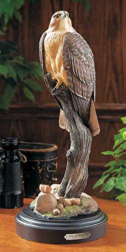 (Wild Wings Red Tailed Hawk Sculpture by Phil Galatas)