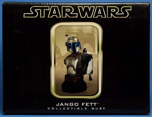JANGO FETT Attack of the Clones STARWARS LIMITED & NUMBERED EDITION STATUE (Location Costume Star Wars)