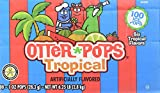 100 juice otter pops - Otter Pops Tropical Ice Pops – Gluten and Fat Free Ice Pops, Delicious Tropical Frozen Treats Include New Fruit Punch, Pineapple, Coconut, and Mango Flavors, 100 Count of 1 oz. Pops