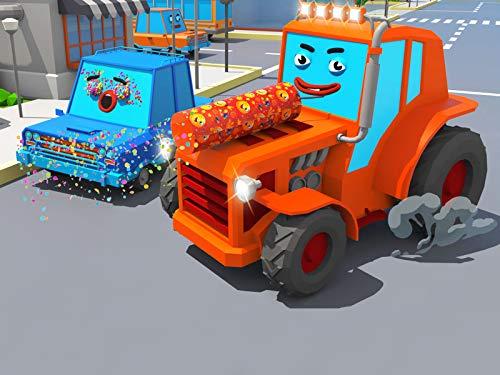 Orange Tractor ()
