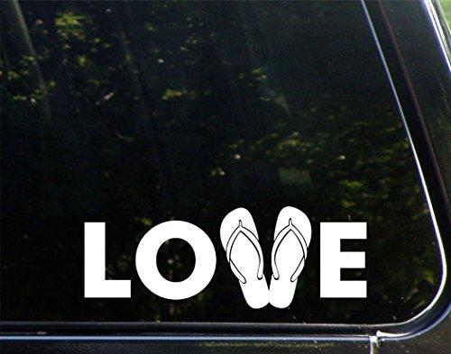 LOVE Flip Flops - 8 3/4