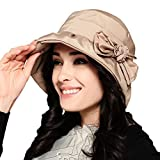 Maitose Trade; Women's Waterproof Windproof Bucket Hat Beige