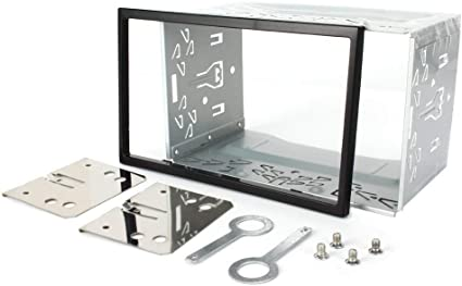 Universal 2 Din Mounting Kit Fitting Cage for 2 DIN In Dash Car Stereo Radio