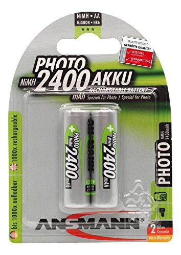 ANSMANN 1x2 NiMH rech. battery Mignon AA 2400 mAh PHOTO, 5030492 (Mignon AA 2400 mAh ()
