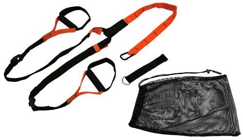 Pro Core Suspension Trainer schwarz / orange inkl. Türverankerung und Aufbewahrungsbeutel