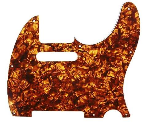 DAndrea Pro Tele Guitar Pickguard Gold Pearl