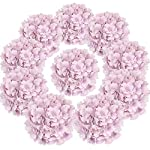 Flojery-Silk-Hydrangea-Heads-Artificial-Flowers-Heads-with-Stems-for-Home-Wedding-DecorPack-of-10-Violet