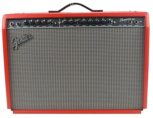 Fender 2330400600 Limited Edition Champion 100 Electric Guitar Amplifier, Fiesta Red by Fender