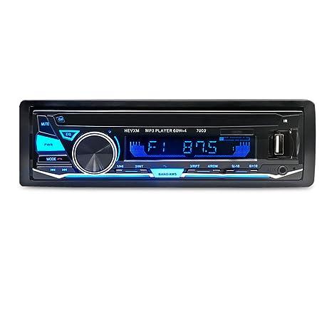 amazon com vigorwork autoradio car radio bluetooth car stereo inimage unavailable image not available for color vigorwork autoradio car radio bluetooth car stereo in dash 1 din 12v