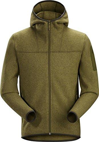 Arc'teryx Covert Hoody Mens Jacket - Medium/Roman Pine (Arcteryx Covert Hoody Jacket)