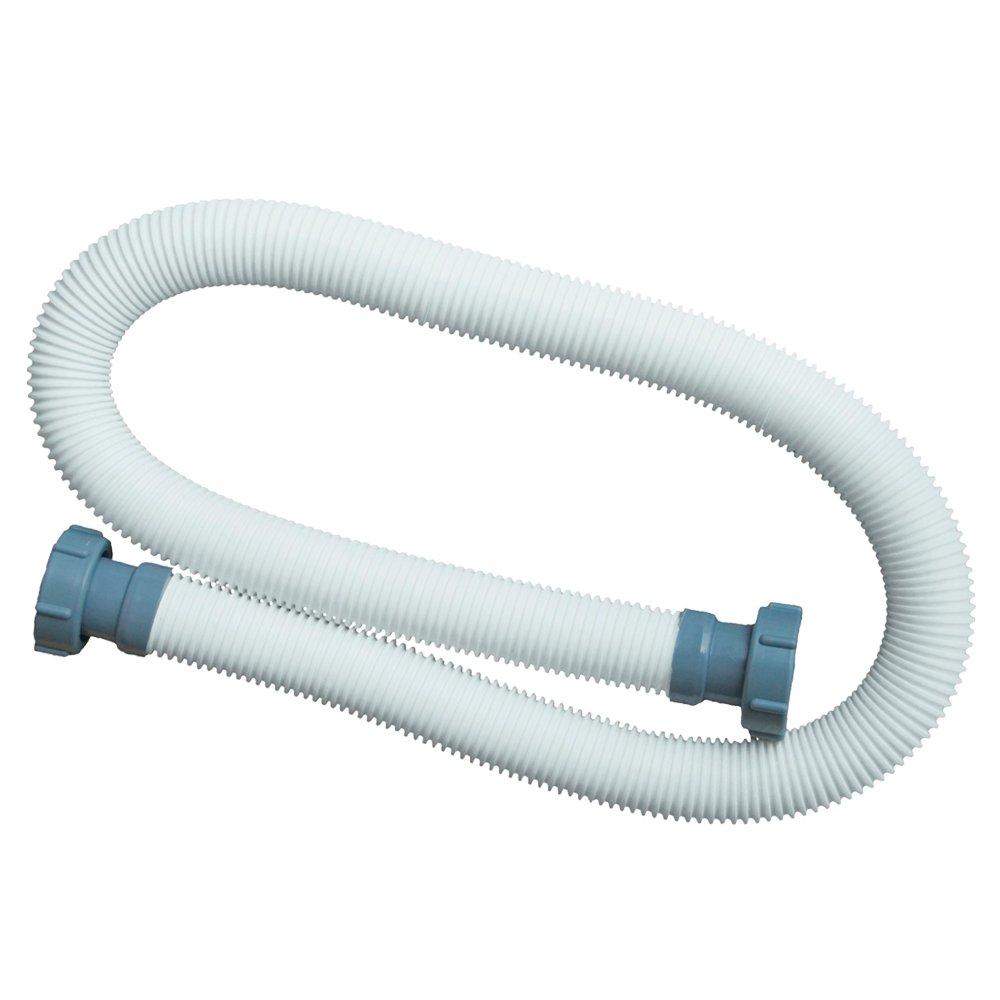 Intex swimming pool hose with fitting 2inch internal thread, grey, ø 38mm x 150cm 29060