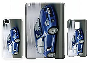 Renault Clio V6 Blue iPhone 4 / 4S Fundas del teléfono móvil de calidad