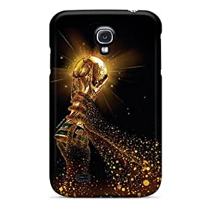 AmazingAge Scratch-free Phone Case For Galaxy S4- Retail Packaging - World Cup Iphone4