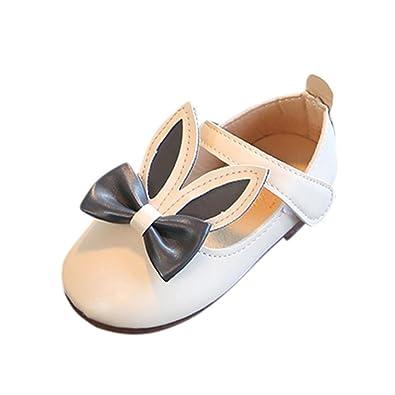 2fda4a00fcdba GongzhuMM Sandales Bébé Fille 21-30 Chaussures de Princesse Fille Été  Chaussures Sneakers Enfant