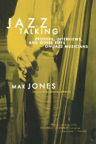 Jazz Talking: Profiles, Interviews, And Other Riffs On Jazz Musicians by Max Jones (2000-05-03)