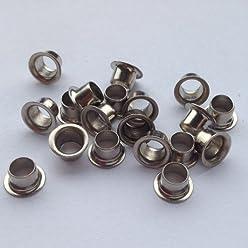 ring rollend vermessing selbstlochend 6,9 mm /Ösen Nr 270 Menge:500 St/ück;Material:vermessingt eisen vernickelt