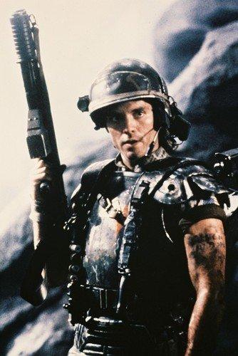 Moviestore Michael Biehn als Cpl. Dwayne Hicks in Aliens 91x60cm Farb-Posterdruck