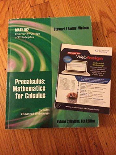 CCP Math 162 Precalculus Textbook