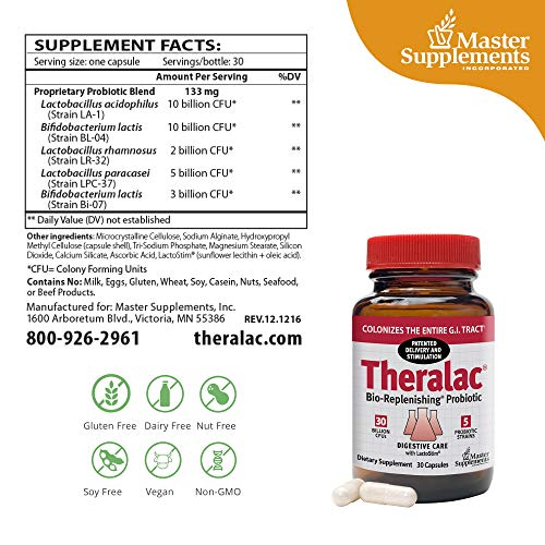 Master Supplements Theralac Bio Replenishing Probiotic