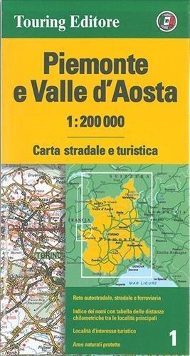 Cartina Valle D Aosta Stradale.Amazon It Piemonte E Valle D Aosta 1 200 000 Carta Stradale E Turistica Ediz Multilingue Aa Vv Libri In Altre Lingue