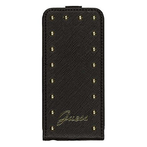 Guess Studded Flipcase Tasche für Apple iPhone 6 - schwarz Hülle