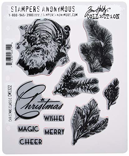 Stampers Anonymous CMS322 Tim Holtz Cling Stamps 7