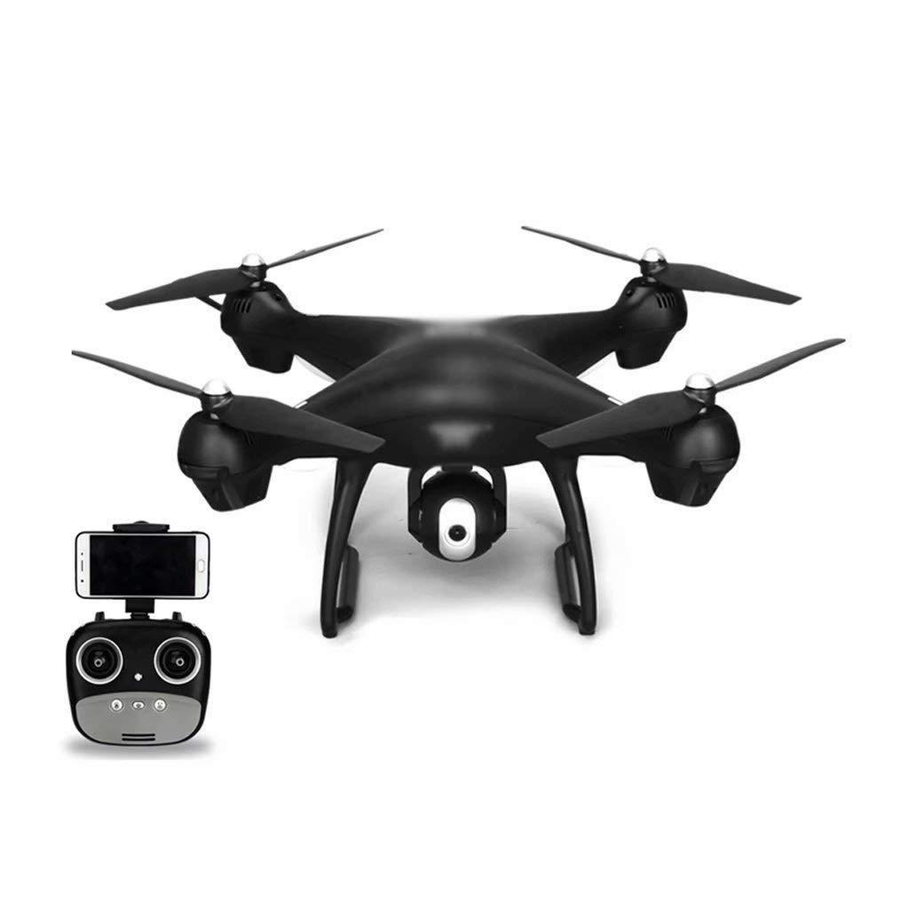 100% a estrenar con calidad original. Negro Negro Negro -30 Minutos WRJ-Drones Control Remoto Inteligente con Control Remoto con 1080p HD cámara Gran Angular Wi-Fi Video en Vivo en Vivo 2.4GHz 9-Axis gyro Quadcopter Negro (4 baterías)  comprar descuentos
