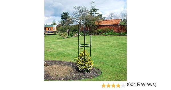 KINGFISHER - Estructura para plantas exteriores (acero): Amazon.es ...