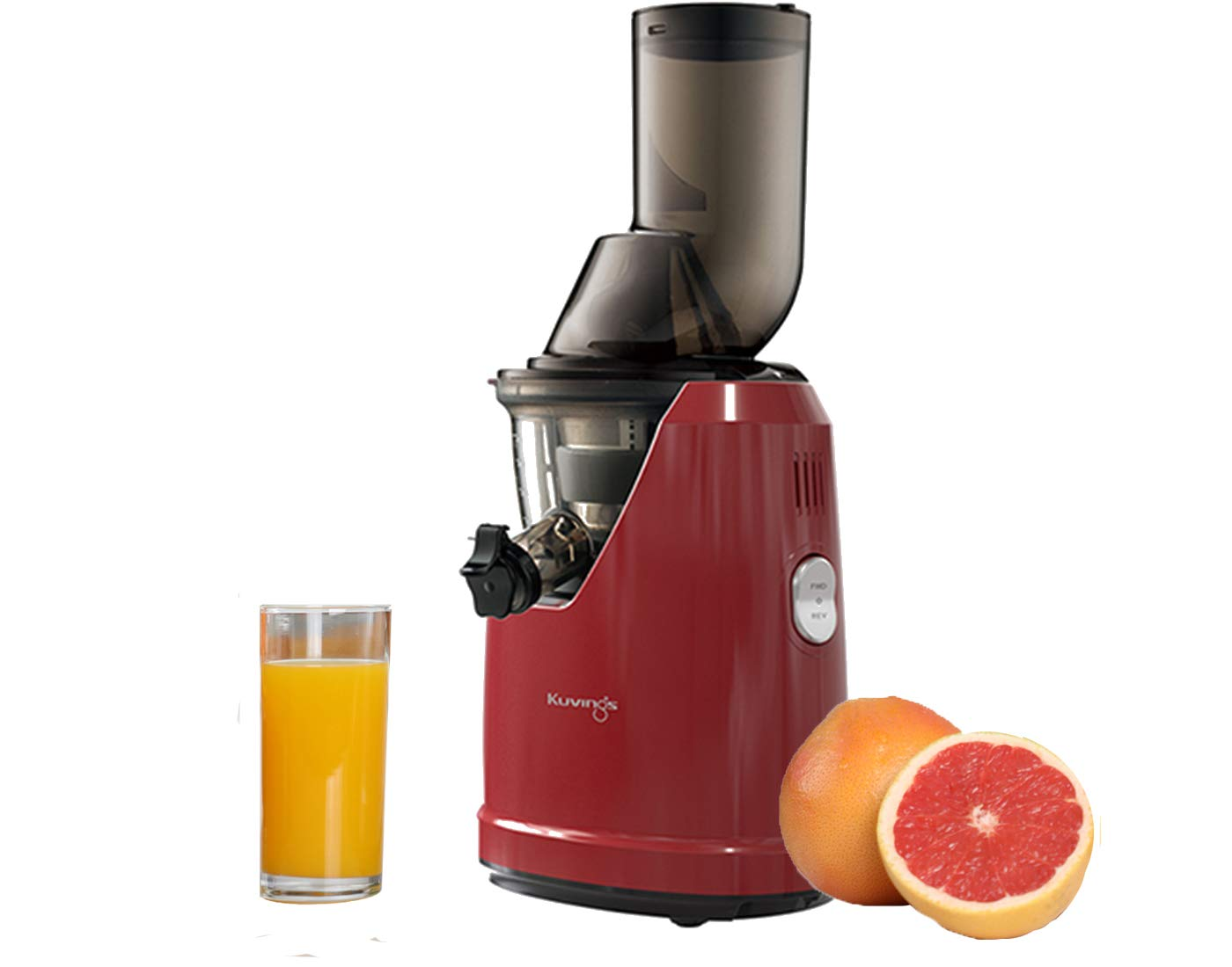 Kuvings Professional Cold Press Whole Slow Juicer (B1700) (Red)