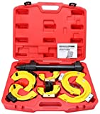 8milelake MacPherson Strut Spring Compressor Interchangeable Fork Coil Extractor Tool Kit With a protective layer