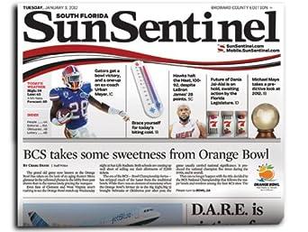 sun sentinel deals delivered