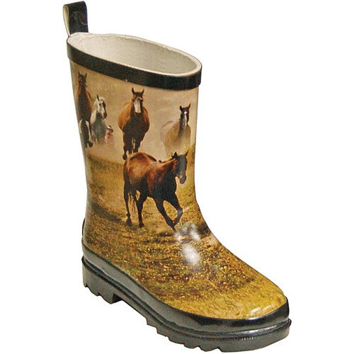 ITASCA MISTY PONY KIDS RUBBER FASHION BOOTS SGxmbvlX