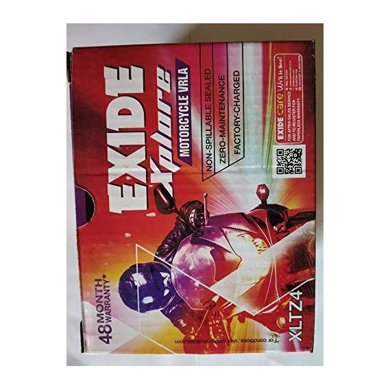 Exide Xltz4 12V Exide Xplore (XLTZ4EXIDEXPLORE)