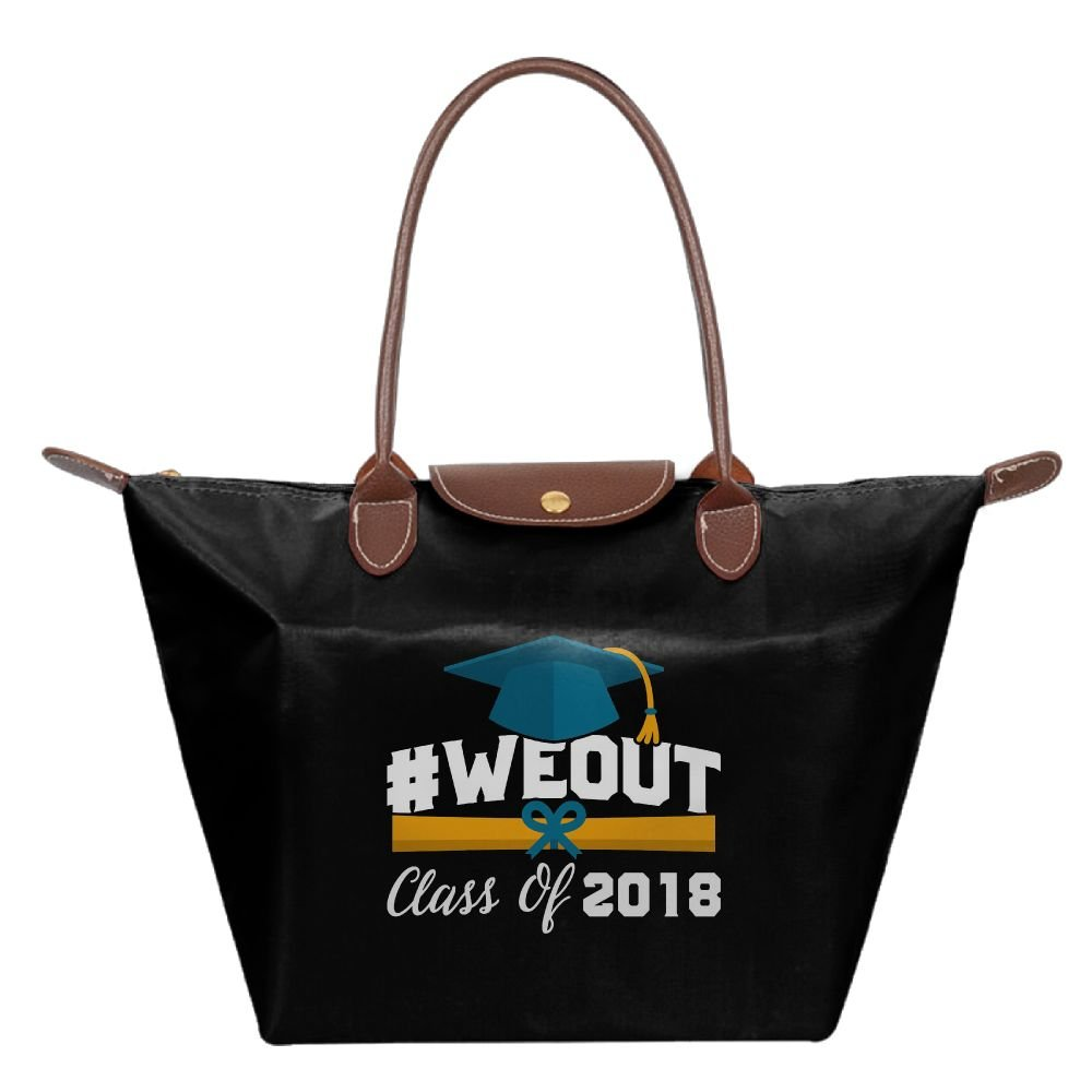 Adwelirhfwer Unisex WeOut Class Of 2018 Convenience Packet Black
