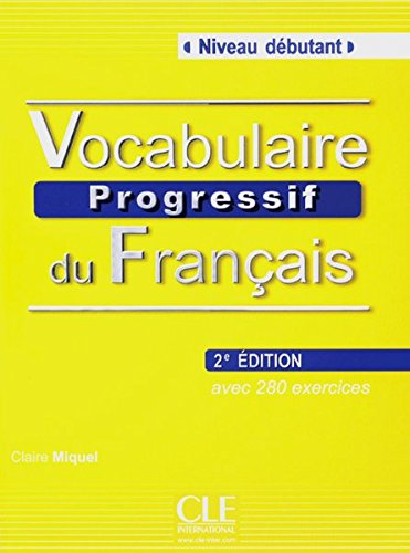 Vocabulaire progressif du français: Buch + Audio-CD