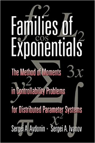 Families of Exponentials: The Method of Moments in